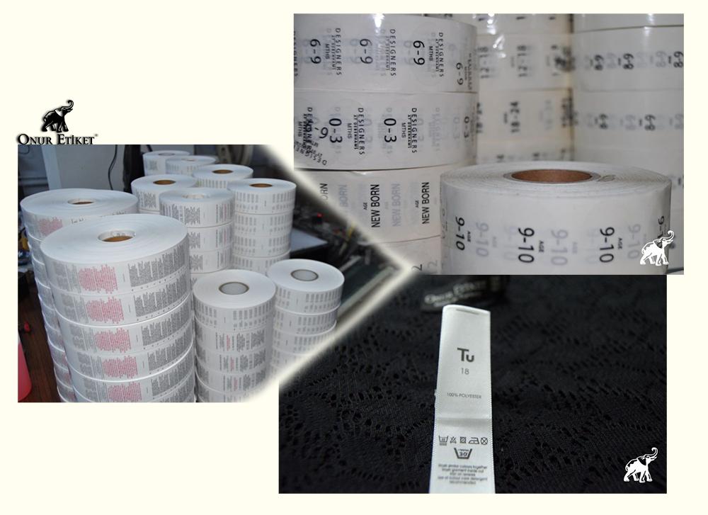 Baskı Etiket - Baskı Etiket Fiyatları - Karton Etiket | Onur Etiket