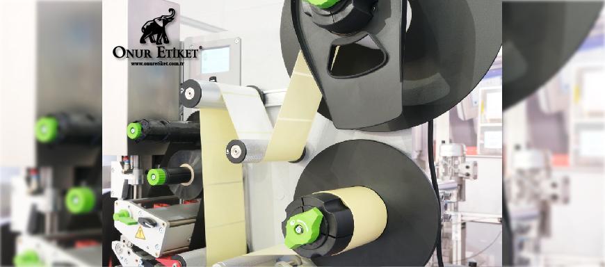 Dijital Rulo Etiket Baskı Makinesi - Dijital Rulo Etiket Baskısı - Onur Etiket