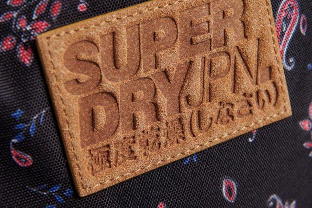 Super dry Deri Etiket