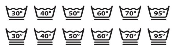 Yıkama Talimatı Etiketi Derece Sembolleri - Onur Etiket