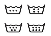 Yıkama Talimatı Etiketi Sıcaklık Sembolleri - Onur Etiket