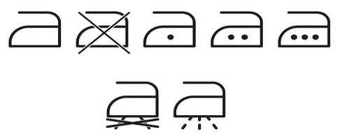 Yıkama Talimatı Etiketi Ütü Sembolleri - Onur Etiket